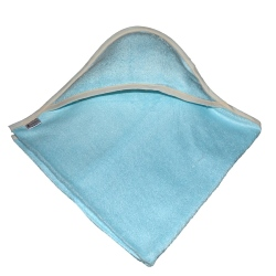 cape de bain bambou all color Bleu