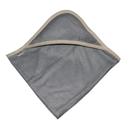 cape de bain bambou all color Gris