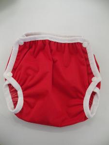 culotte imperméable bubble snaps S - Rouge