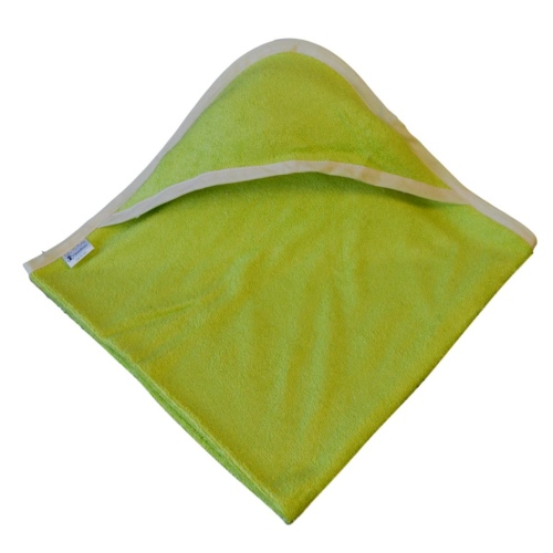 cape de bain bambou all color Vert