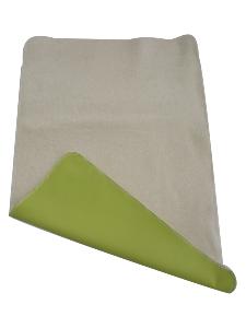 tapis de change nomade en coton bio vert. Black Bedroom Furniture Sets. Home Design Ideas